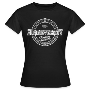 Zombieversity - Frauen T-Shirt
