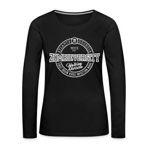 Zombieversity - Frauen Premium Langarmshirt