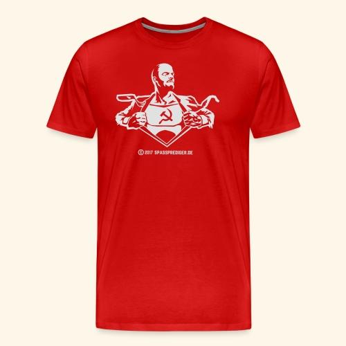 Lenin, Superheld der Arbeit - Männer Premium T-Shirt