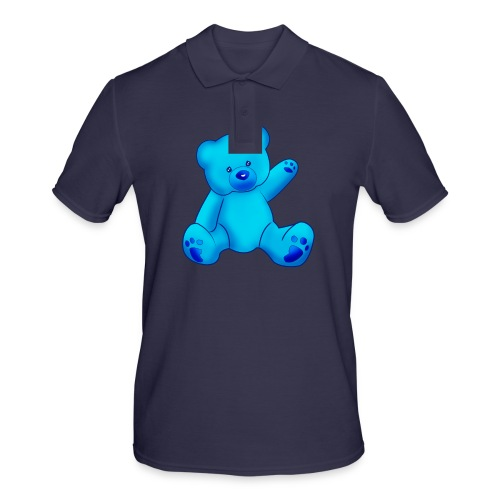 T-shirt Ourson bleu  - Polo Homme