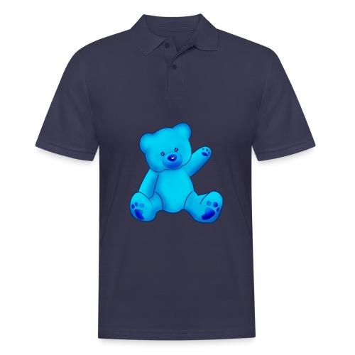 T-shirt Ourson bleu  - Polo Homme