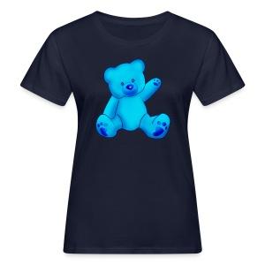 T-shirt Ourson bleu  - T-shirt bio Femme