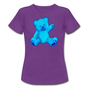 T-shirt Ourson bleu  - T-shirt Femme