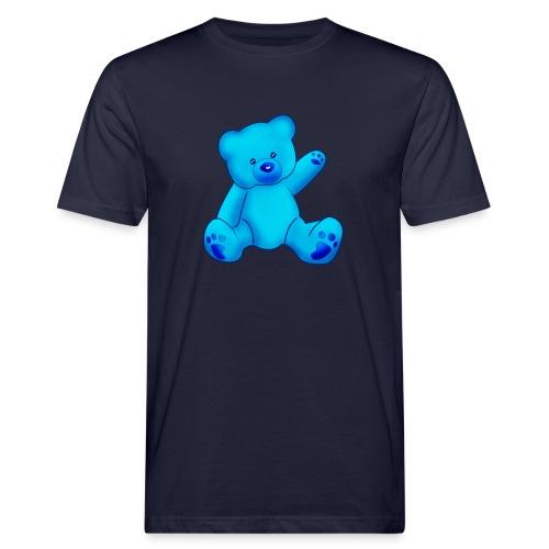 T-shirt Ourson bleu  - T-shirt bio Homme