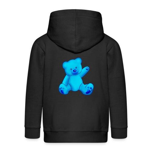 T-shirt Ourson bleu  - Veste à capuche Premium Enfant