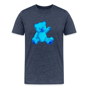 T-shirt Ourson bleu  - T-shirt Premium Homme