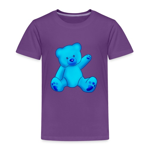 T-shirt Ourson bleu  - T-shirt Premium Enfant