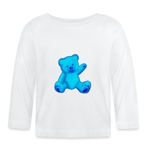 T-shirt Ourson bleu  - T-shirt manches longues Bébé