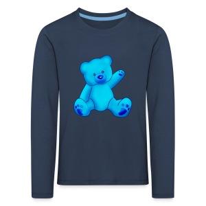 T-shirt Ourson bleu  - T-shirt manches longues Premium Enfant