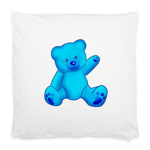 T-shirt Ourson bleu  - Housse de coussin 40 x 40 cm