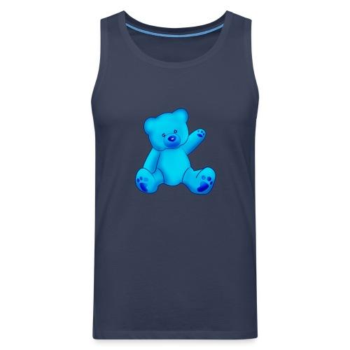 T-shirt Ourson bleu  - Débardeur Premium Homme