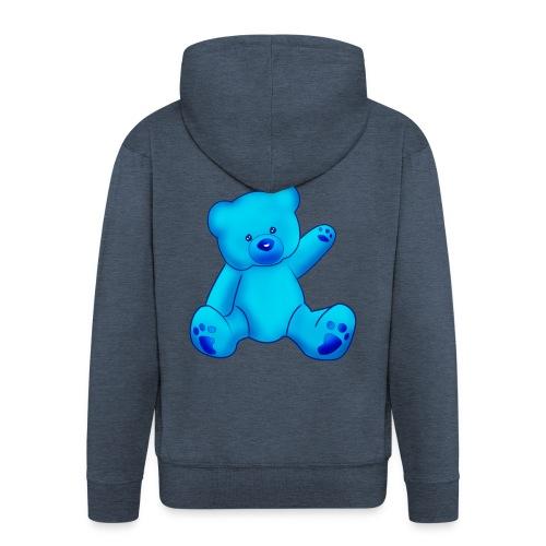 T-shirt Ourson bleu  - Veste à capuche Premium Homme
