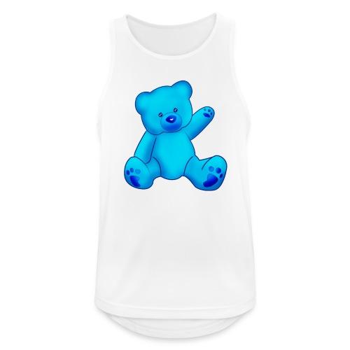 T-shirt Ourson bleu  - Débardeur respirant Homme