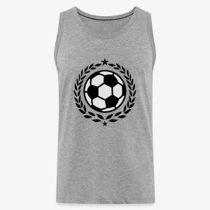 Team Fussball Fußball Fan Lorbeerkranz T-Shirt - Männer Premium Tank Top