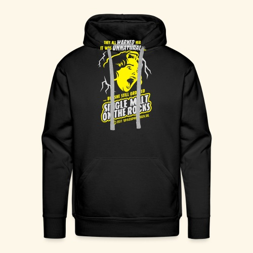 Single Malt on the Rocks - das Original - Männer Premium Hoodie