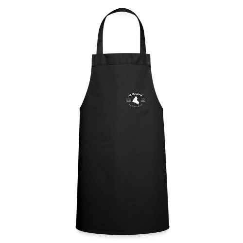 TS Col V Black - Tablier de cuisine