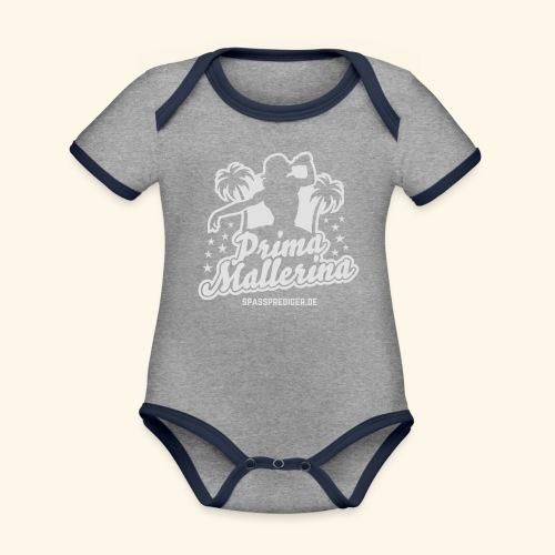 Prima Mallerina - Baby Bio-Kurzarm-Kontrastbody