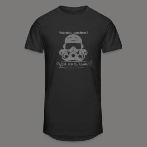 Warum tauchen? - Männer Urban Longshirt