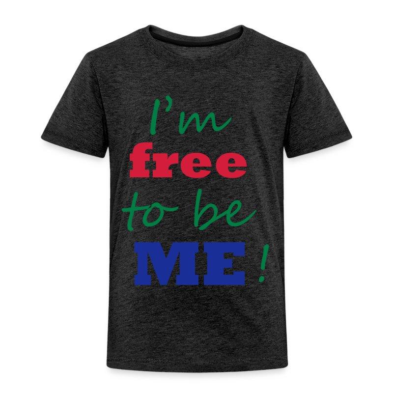 free to be - Kinder Premium T-Shirt