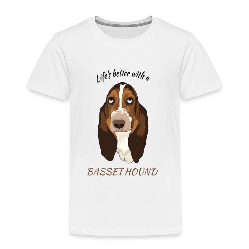 Life's better Mug - Kinder Premium T-Shirt