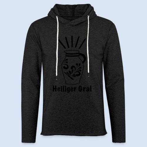 FRANKFURT DESIGN - Heiliger Gral #Bembel - Leichtes Kapuzensweatshirt Unisex