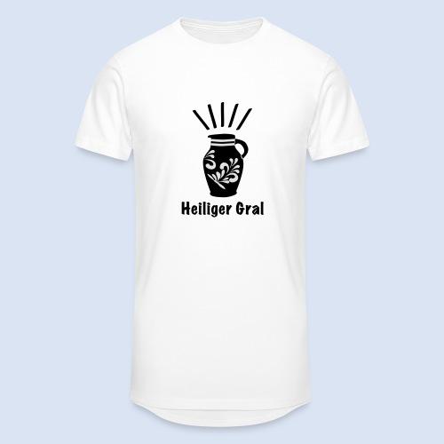 FRANKFURT DESIGN - Heiliger Gral #Bembel - Männer Urban Longshirt