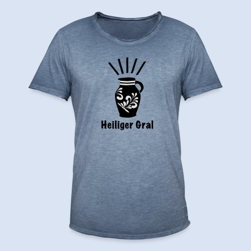 FRANKFURT DESIGN - Heiliger Gral #Bembel - Männer Vintage T-Shirt