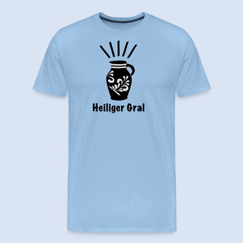 FRANKFURT DESIGN - Heiliger Gral #Bembel - Männer Premium T-Shirt