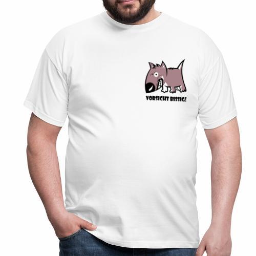 Vorsicht bissig - Männer T-Shirt