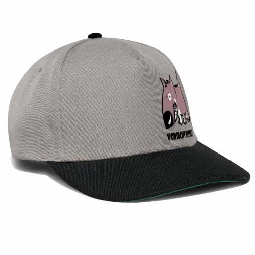 Vorsicht bissig - Snapback Cap