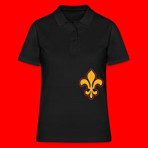 Sac Retro Style Lys Or-Argent brillant - Women's Polo Shirt