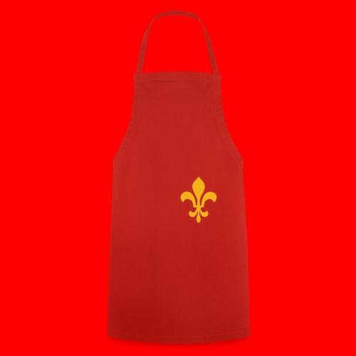 Sac Retro Style Lys Or-Argent brillant - Tablier de cuisine