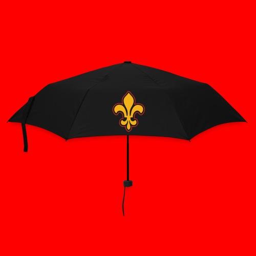 Sac Retro Style Lys Or-Argent brillant - Parapluie standard