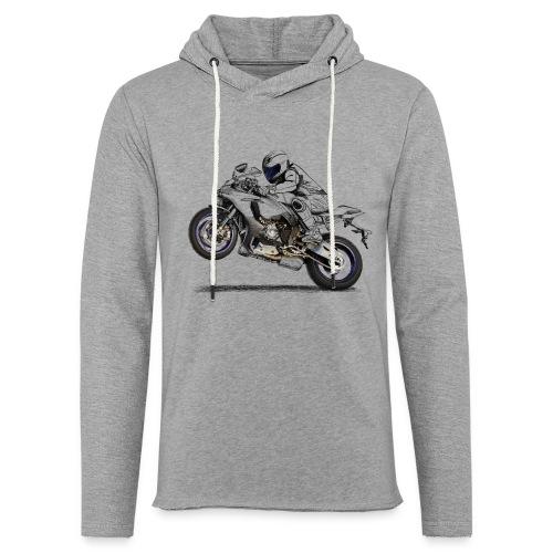 Moto - Sudadera ligera unisex con capucha
