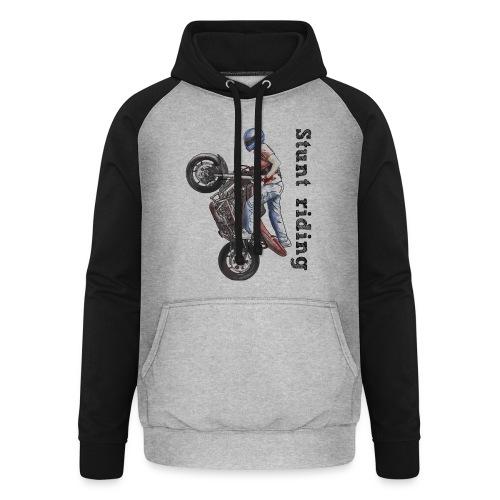 Stunt Riding - Sudadera con capucha de béisbol unisex