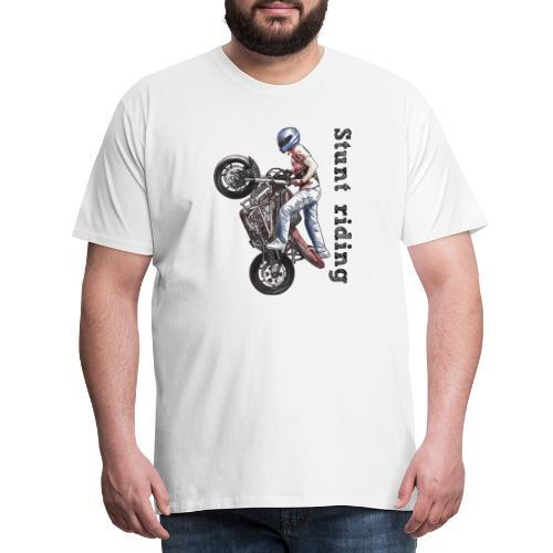 Stunt Riding - Camiseta premium hombre
