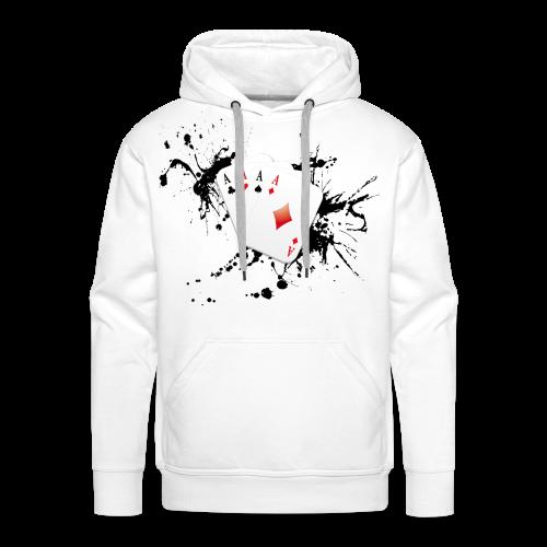 Poker 2.0 - Sweat-shirt à capuche Premium pour hommes