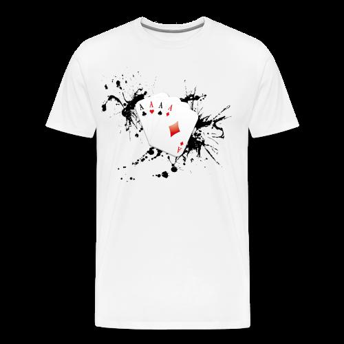 Poker 2.0 - T-shirt Premium Homme