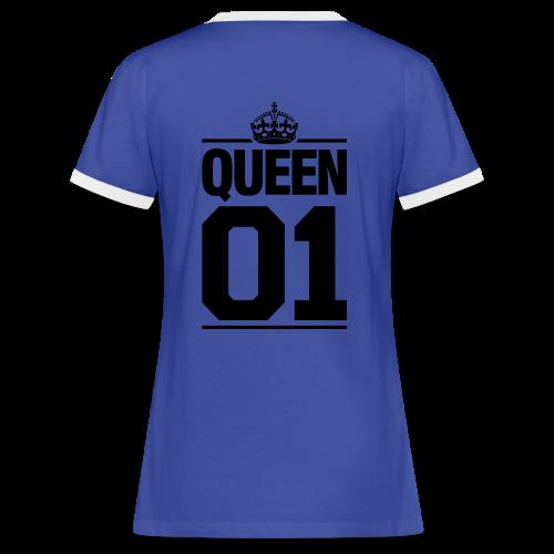 Queen 1.0 - T-shirt contrasté Femme