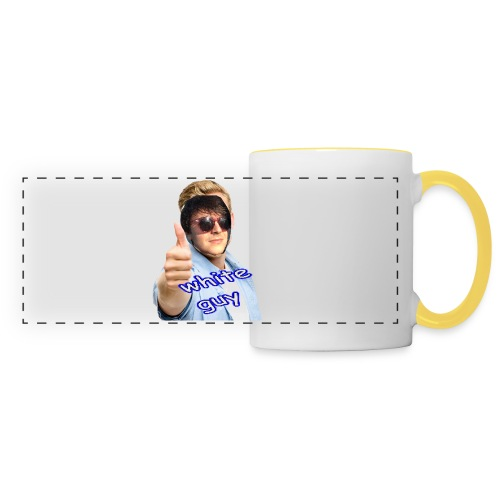 XXXXX WHITE GUY BAG XXXXX - Panoramic Mug