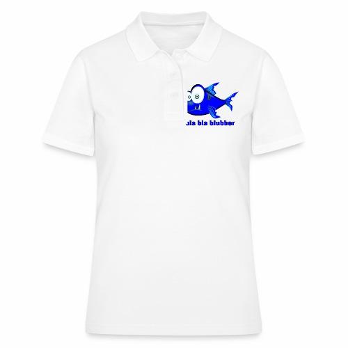 bla bla  - Frauen Polo Shirt