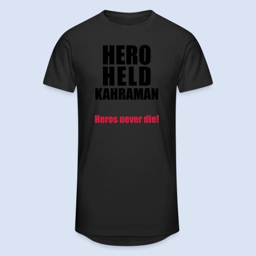 Hero Shirt Erdogan Shirt - Turkey Türkei #Erdogan #Turkey - Männer Urban Longshirt