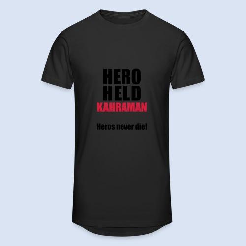 Hero Shirt Erdogan Shirt - Turkey Türkei #Erdogan #Türkei - Männer Urban Longshirt