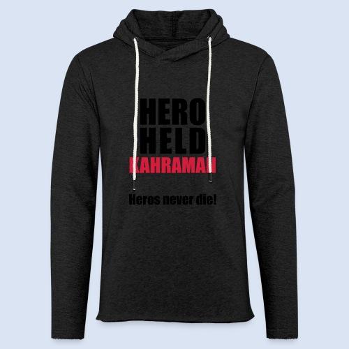 Hero Shirt Erdogan Shirt - Turkey Türkei #Erdogan #Türkei - Leichtes Kapuzensweatshirt Unisex