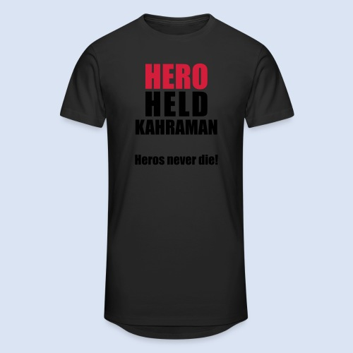 Hero Shirt Erdogan Shirt - Turkey Türkei #Erdogan #Kahraman - Männer Urban Longshirt