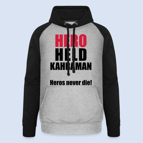 Hero Shirt Erdogan Shirt - Turkey Türkei #Erdogan #Kahraman - Unisex Baseball Hoodie