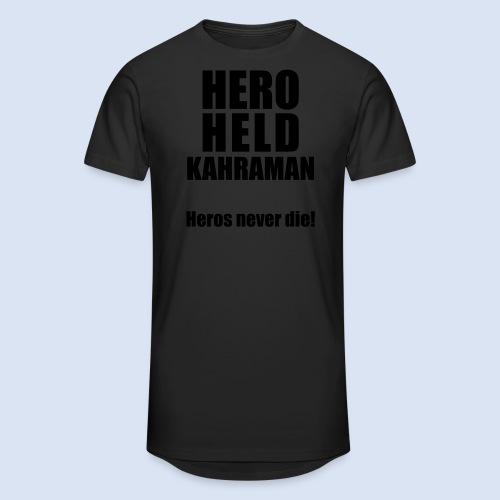 Hero Shirt Erdogan Shirt - Turkey Türkei #Erdogan #Kahraman - Männer Urban Longshirt