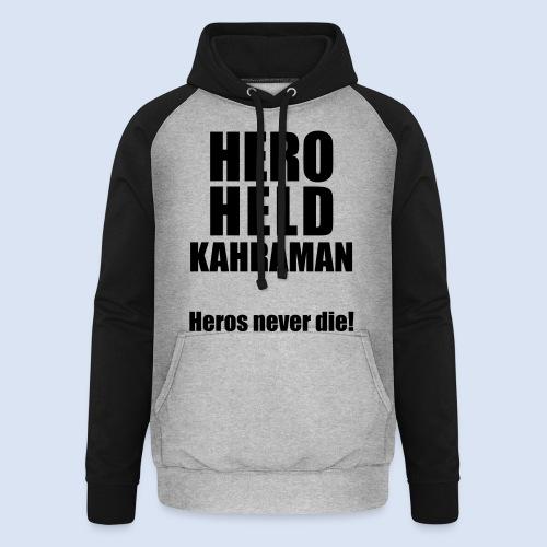 Hero Shirt Erdogan Shirt - Turkey Türkei #Erdogan #Kahraman - Unisex Baseball Hoodie