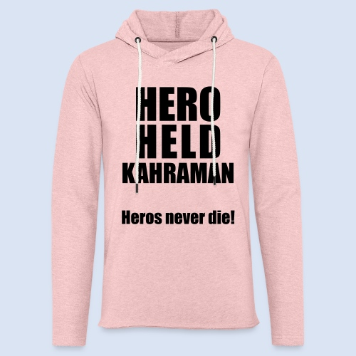 Hero Shirt Erdogan Shirt - Turkey Türkei #Erdogan #Kahraman - Leichtes Kapuzensweatshirt Unisex
