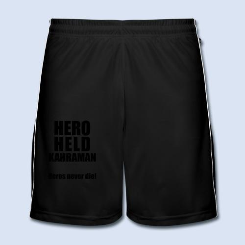 Hero Shirt Erdogan Shirt - Turkey Türkei #Erdogan #Kahraman - Männer Fußball-Shorts